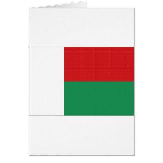 マダガスカルの国旗 カード