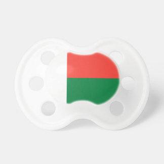 マダガスカルの国民の世界の旗 おしゃぶり