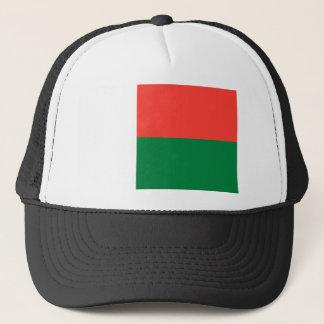 マダガスカルの国民の世界の旗 キャップ