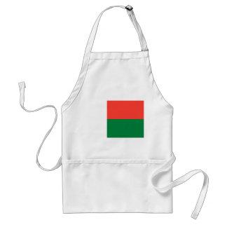 マダガスカルの国民の世界の旗 スタンダードエプロン