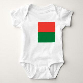 マダガスカルの国民の世界の旗 ベビーボディスーツ