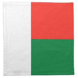 マダガスカルの旗のナプキン ナプキンクロス