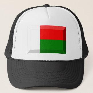 マダガスカルの旗の宝石 キャップ
