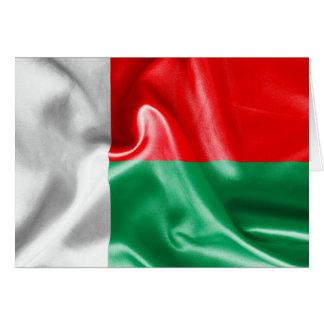 マダガスカルの旗 カード