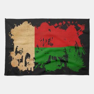 マダガスカルの旗 キッチンタオル