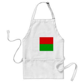 マダガスカルの旗 スタンダードエプロン