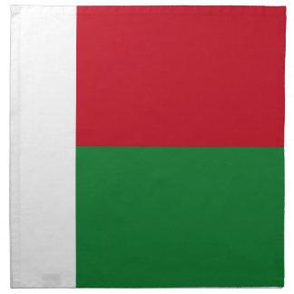マダガスカルの旗 ナプキンクロス