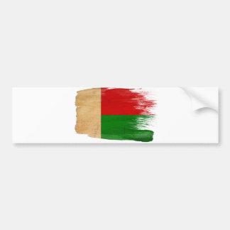 マダガスカルの旗 バンパーステッカー