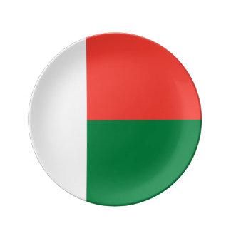 マダガスカルの旗 磁器プレート