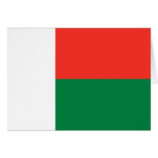 マダガスカルの旗Notecard カード