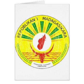 マダガスカルの紋章付き外衣 カード