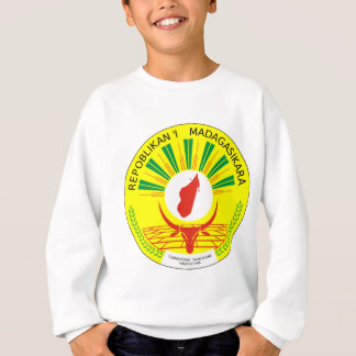 マダガスカルの紋章付き外衣 スウェットシャツ