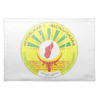 マダガスカルの紋章付き外衣 ランチョンマット