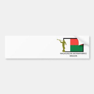 マダガスカルアンタナナリボの代表団LDS CTR バンパーステッカー