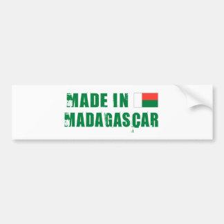 マダガスカル バンパーステッカー