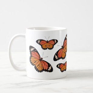 マダラチョウのクラシックのマグ コーヒーマグカップ