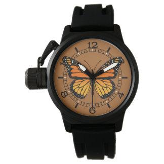 マダラチョウのダイヤル 腕時計