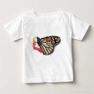 マダラチョウの写真 ベビーTシャツ