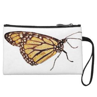 マダラチョウの小型クラッチの財布 クラッチ