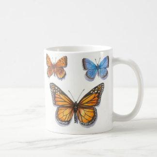 マダラチョウ及び友人 コーヒーマグカップ