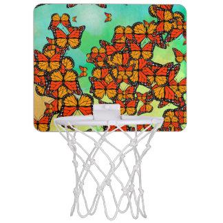 マダラチョウ ミニバスケットボールゴール