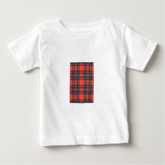 マッキントッシュ家族のタータンチェック ベビーTシャツ
