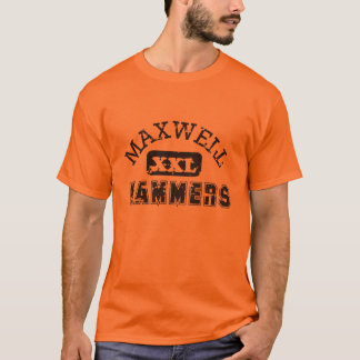 マックスウェルのハンマーのスポーツチーム Tシャツ