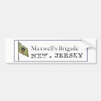 マックスウェルの組のバンパーステッカー バンパーステッカー