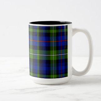 マッケンジーのスコットランド人のタータンチェック ツートーンマグカップ