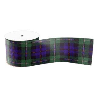 マッケンジーの一族の格子縞のスコットランド人のタータンチェック グログランリボン