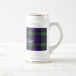 マッケンジーの一族の格子縞のスコットランド人のタータンチェック ビールジョッキ