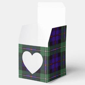 マッケンジーの一族の格子縞のスコットランド人のタータンチェック フェイバーボックス
