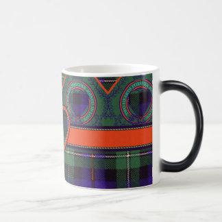 マッケンジーの一族の格子縞のスコットランド人のタータンチェック モーフィングマグカップ