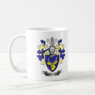 マッケンジーの家紋の紋章付き外衣 コーヒーマグカップ
