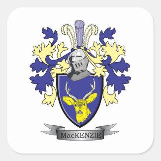 マッケンジーの家紋の紋章付き外衣 スクエアシール