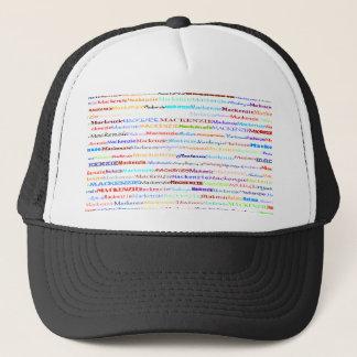 マッケンジーの文字デザインなII帽子 キャップ