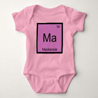 マッケンジー一流化学要素の周期表 ベビーボディスーツ