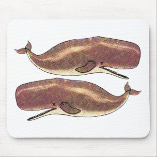 マッコウクジラ マウスパッド
