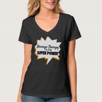 マッサージセラピストのTシャツの軍事大国 Tシャツ