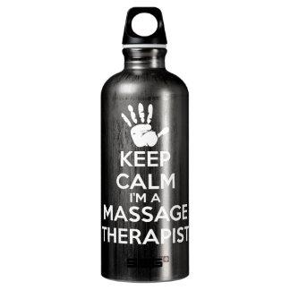 マッサージセラピスト-平静を保って下さい ウォーターボトル