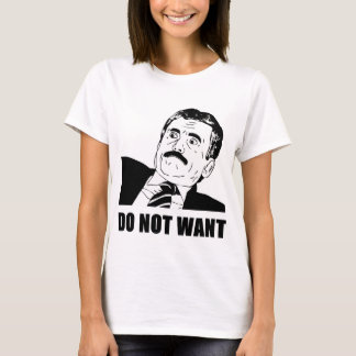 マッシモがほしくないですほしいと思わないで下さい Tシャツ