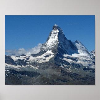 マッターホルンのスイスのアルプスポスター ポスター