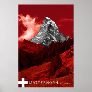 マッターホルンスイス連邦共和国 ポスター