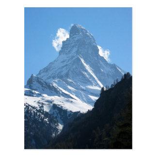 マッターホルン、Zermatt 1 ポストカード