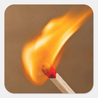 マッチの火 スクエアシール