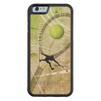マッチポイントII CarvedメープルiPhone 6バンパーケース