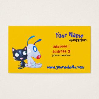 マットのプロフィールカード 名刺