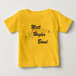 マットWiglerバンド乳児か幼児のTシャツ ベビーTシャツ