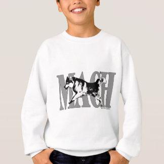 マッハのシベリアンハスキー スウェットシャツ