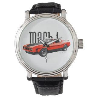 マッハ1のムスタングの腕時計 腕時計